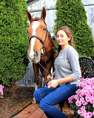 Photograph - Katherine Pal 5 by Life With Horses