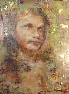 Painting - Katherine Reflected by Vicki Ross