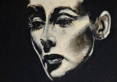 Katherine Art Print by Sandro Ramani