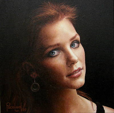 Paco Painting - Kathleen by Paco Leal