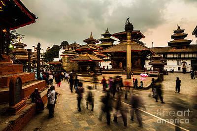 Kathmandu Dream Art Print