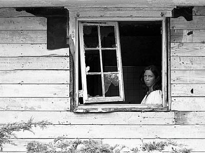 Photograph - Kathy-caumsett 1980 by Ed Weidman