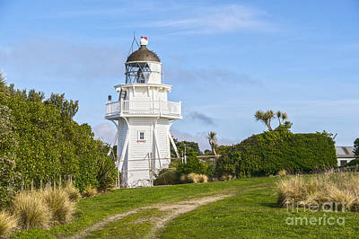 Photograph - Katiki Point Lighthouse New Zealand by Colin and Linda McKie
