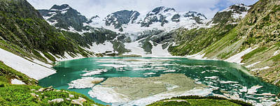 Photograph - Katoora Lake by Murtaza Mahmud