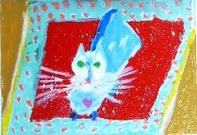 Painting - Katpet by Leslie Byrne