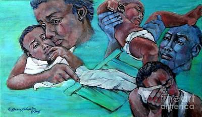 Katrina And The Days That Followed Three Art Print