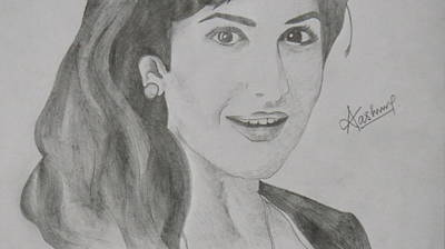 Katrina Kaif Drawing - Katrina Kaif by Akash Vishwakarma