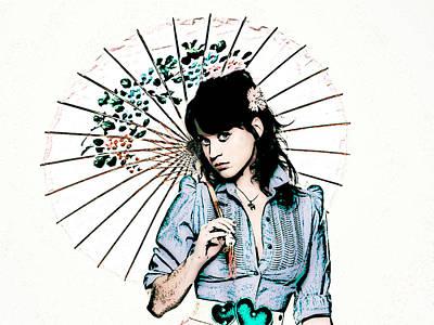 Idols Photograph - Katy Perry by VRL Art