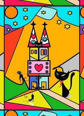Katzenjammer By Nico Bielow Art Print by Nico Bielow
