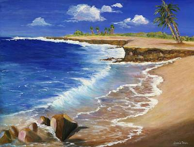 Painting - Kauai Beach by Jamie Frier