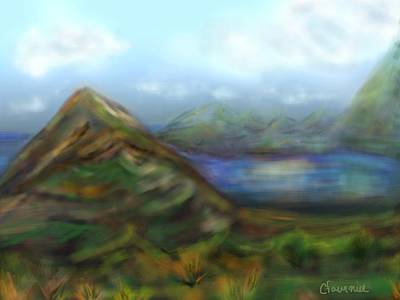 Kauai Art Print by Christine Fournier