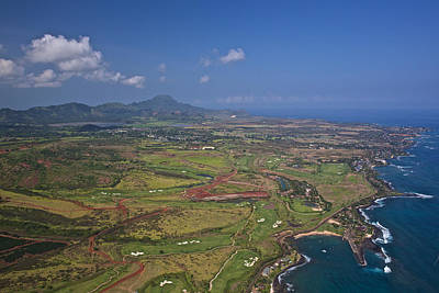 Photograph - Kauai Looking South by Steven Lapkin