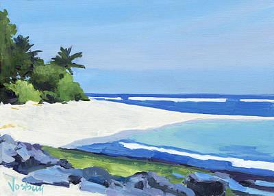 Haleiwa Painting - Kauai Northshore Beach by Stacy Vosberg