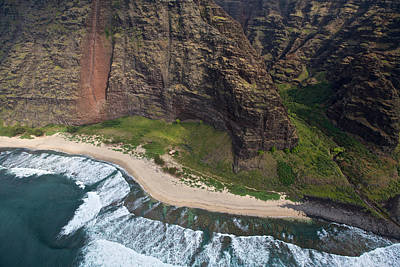 Photograph - Kauai Northshore Beaches by Steven Lapkin