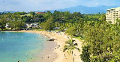 Photograph - Kauai Resort Beach by Kicka Witte