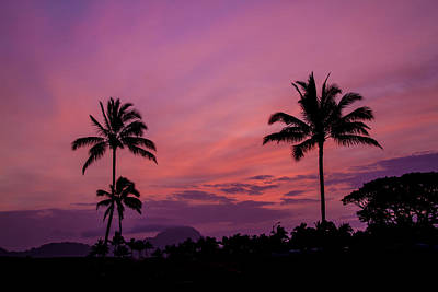 Photograph - Kauai Sunrise by Roger Mullenhour