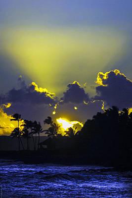 Kauai Sunset Art Print