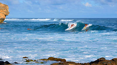 Photograph - Kauai Surf by Marie Hicks