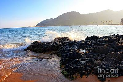Photograph - Kauai's Shore by Elizabeth Winter