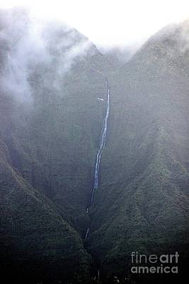 Photograph - Kauai's Waterfall by Elizabeth Winter