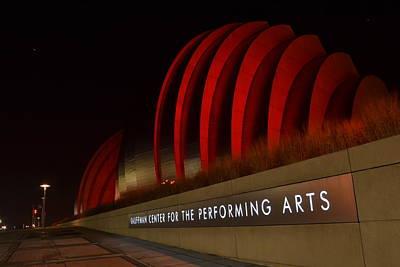 Kansas City Photograph - Kauffman Center Performing Arts 2 by Shelley Wood