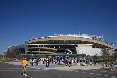 Photograph - Kauffman Stadium - Kansas City Royals by Frank Romeo