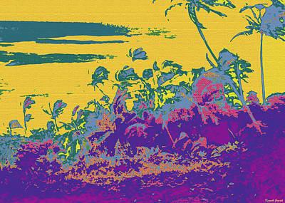 Hawaii Digital Art - Kauluwela Moku 19 by Kenneth Grzesik