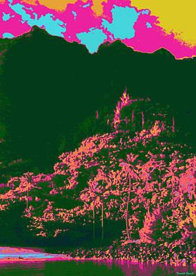 Hawaii Digital Art - Kauluwela Moku 50 by Kenneth Grzesik