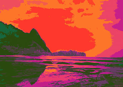 Hawaii Digital Art - Kauluwela Moku 54 by Kenneth Grzesik