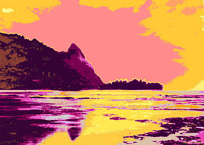 Landscape Mixed Media - Kauluwela Moku 76 by Kenneth Grzesik