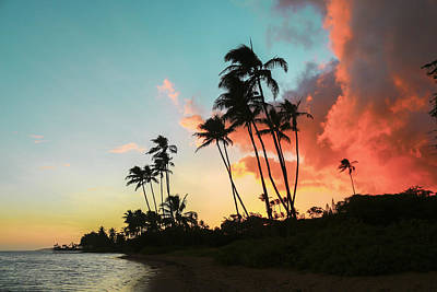 Photograph - Kawaikui Sunset 1 by Leigh Anne Meeks