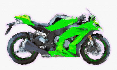 Kawasaki Ninja Zx10r Awesome Original