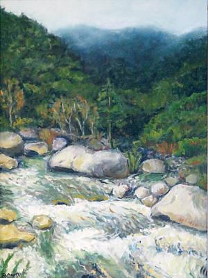 Kaweah River Art Print