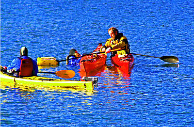 Photograph - Kayak 101 by Joseph Coulombe