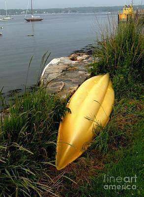 Photograph - Kayak At Rest by Marcia Lee Jones
