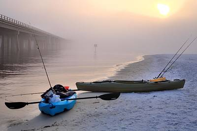 Photograph - Kayak Destin by JC Findley