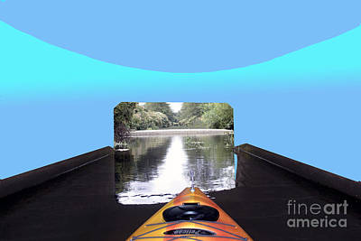 Photograph - Kayak Dreaming by Bill Thomson