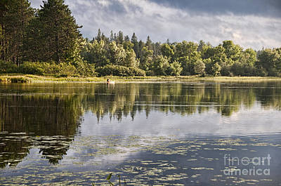 Photograph - Kayak On The Lake by David Arment