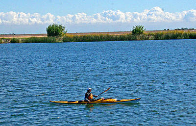 Photograph - Kayak On The Mokelumne River by Joseph Coulombe