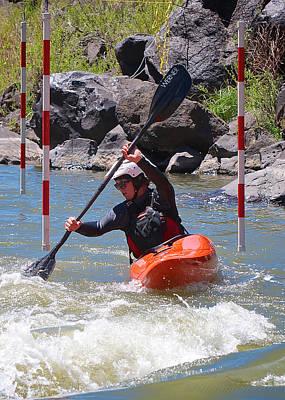 Photograph - Kayaker 1 by Britt Runyon
