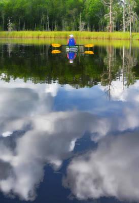 Photograph - Kayaker by Dana Sohr