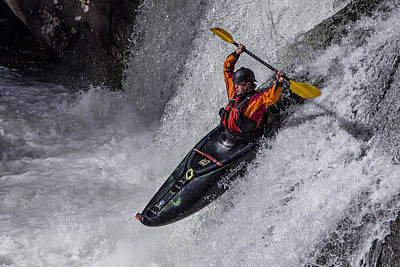 Photograph - Kayaker by Debra and Dave Vanderlaan