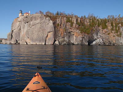 Peterson Nature Photograph - Kayaking Beneath The Light by James Peterson