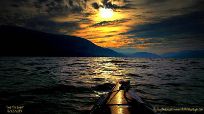 Art Print featuring the photograph Kayaking by Guy Hoffman
