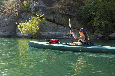 Photograph - Kayaking Lake Clementine by Sherri Meyer