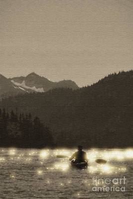 Photograph - Kayaking On Kachemak Bay by Dan Friend