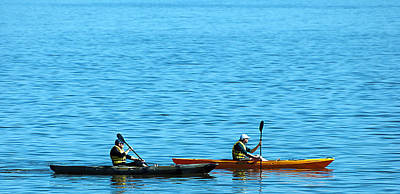 Photograph - Kayaks by Donna Proctor