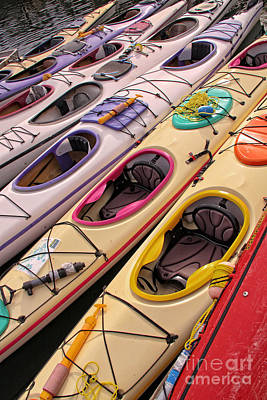 Photograph - Kayaks by Inge Riis McDonald