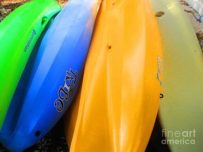 Photograph - Kayaks by Sonia Flores Ruiz