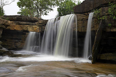 Photograph - Kbal Chhay Waterfalls #2 by David Freuthal